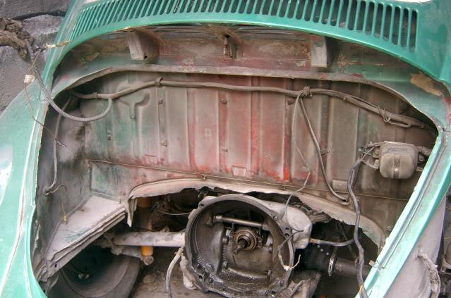 Presentación y proceso de restauración 1969 SV400131