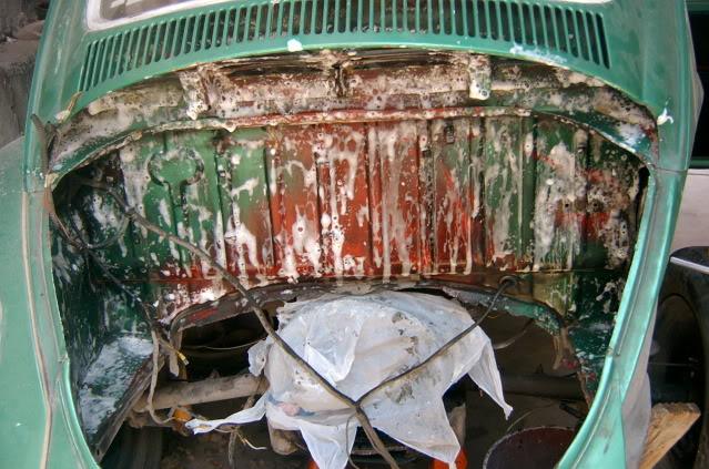 Presentación y proceso de restauración 1969 SV400136