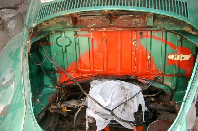 Presentación y proceso de restauración 1969 SV400137