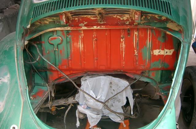 Presentación y proceso de restauración 1969 SV400143
