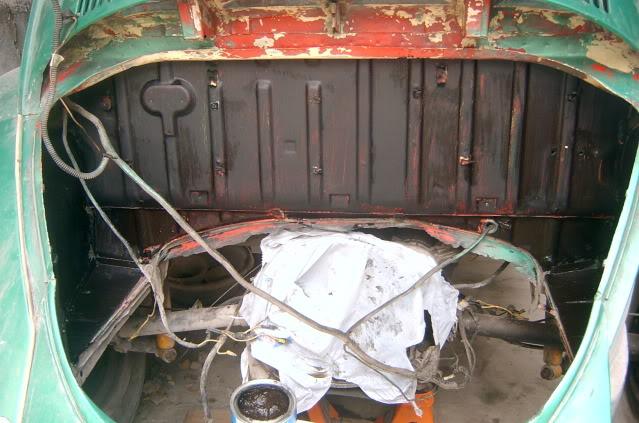Presentación y proceso de restauración 1969 SV400144