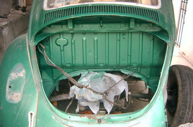 Presentación y proceso de restauración 1969 SV400160