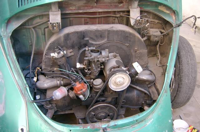 Presentación y proceso de restauración 1969 SV400217