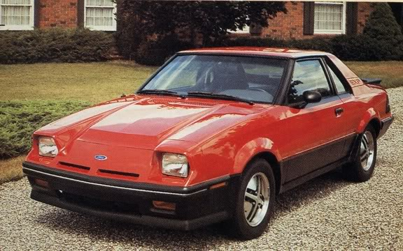 """Ford Exp """"Revell"""" Ford_exp_red_1985_c"""