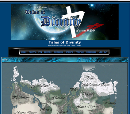 Tales of Divinity Aw