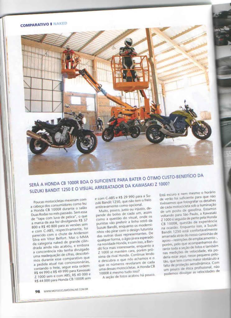Revista Motociclismo - Novembro 2011 Motociclismo