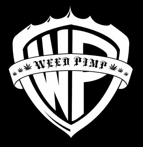 Weed Pimp Clothing WPLogoinvertedcolors