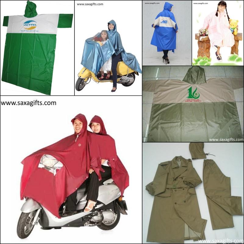 Công ty SAXA chuyên sản xuất áo mưa cánh dơi, áo mưa bộ, in áo mưa quảng cáo Saxa-gifts-Aomua1