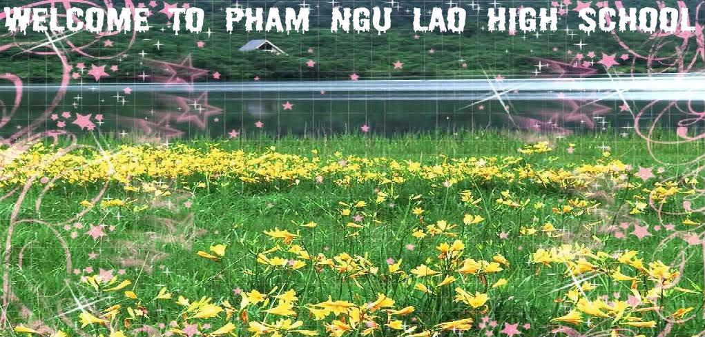Chào mừng BẠN đến với Diễn Đàn Học Sinh THPT  Phạm Ngũ Lão-Hà Nội (PNLF)