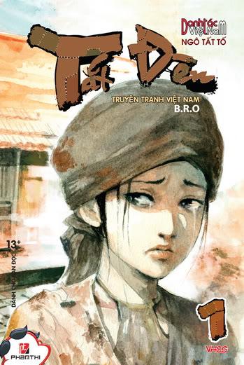 """Tiểu thuyết """"Tắt đèn"""" của Ngô Tất Tố đã được tái hiện bằng truyện tranh BIA_TATDEN_tap01"""