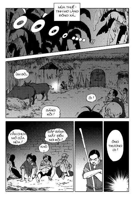 """Tiểu thuyết """"Tắt đèn"""" của Ngô Tất Tố đã được tái hiện bằng truyện tranh Trang03"""