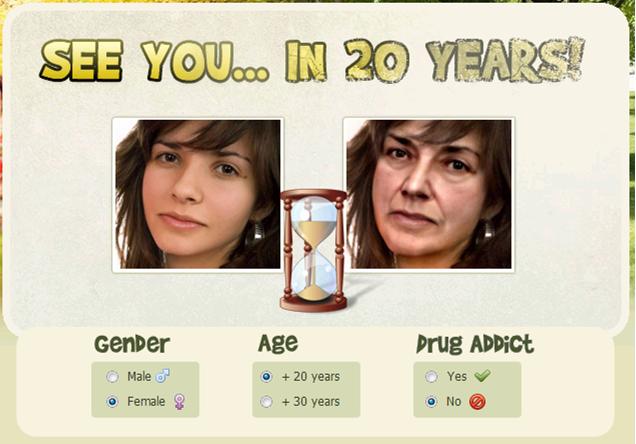 ¿Quieres saber como te veras dentro de 20 años? 20aos