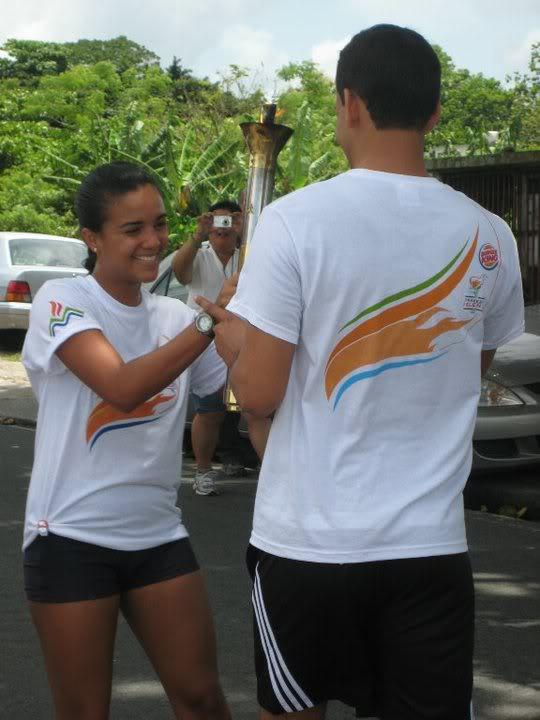 Llega la Antorcha Olímpica a San Lorenzo NataliaRamosMerced