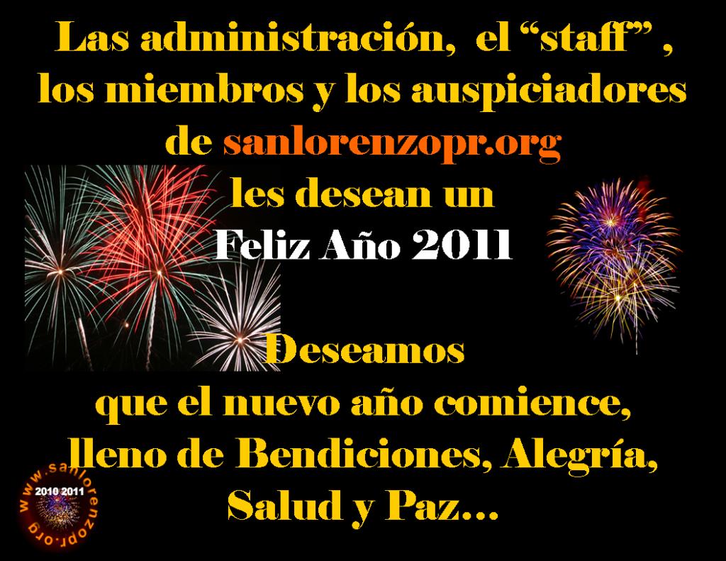 Despedida de Año 2011 Anuncio2011