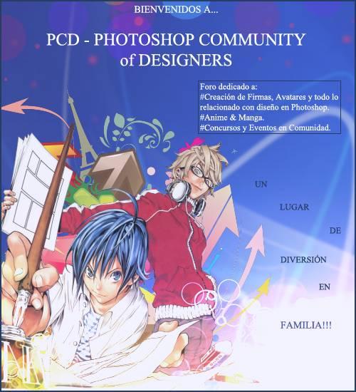 PCD - Photoshop Designers - Portal Bienvenida