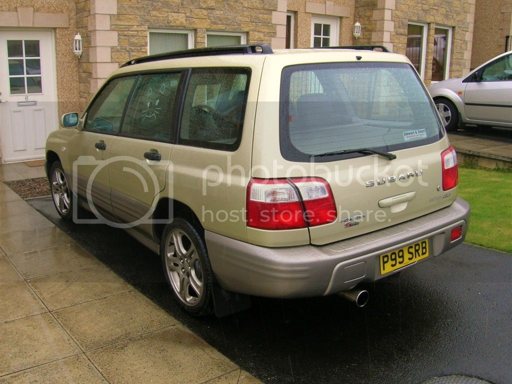 anybody fitted a wrx turbo & decat for a 00 forester..? DSCN9310