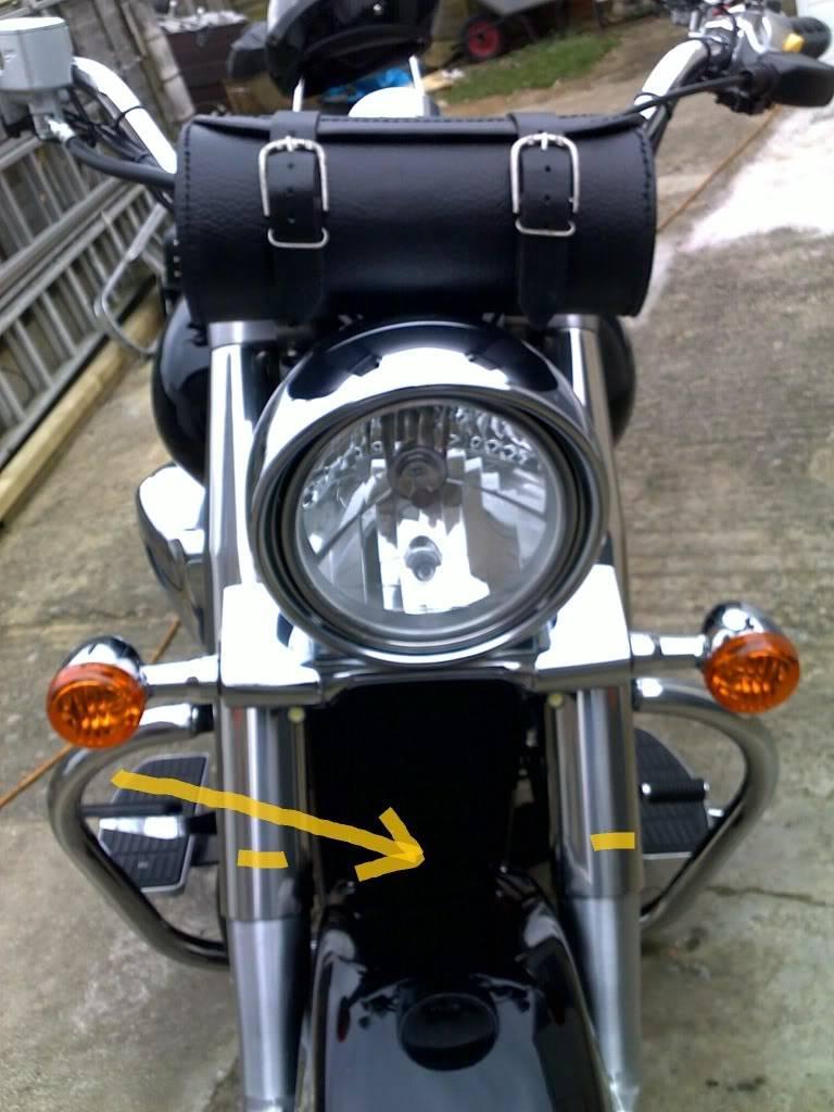 * Suzuki C800, Leather Tool Roll * 05032011050