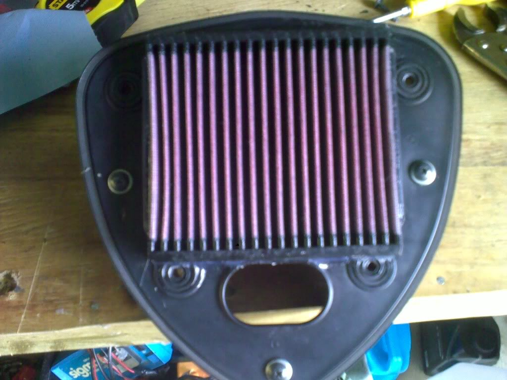 * Suzuki C800,  Air Filter Mod * k&N * 06082010179