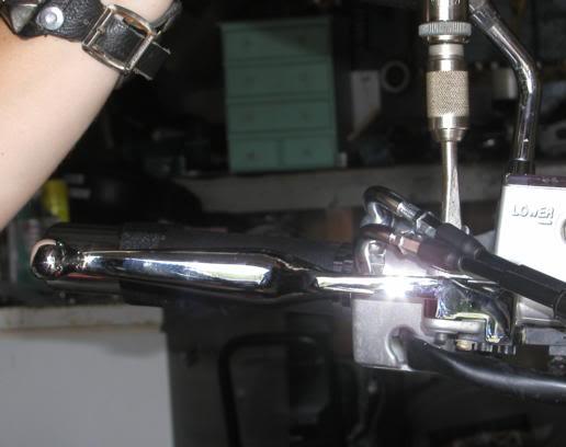 * Mistress K's adventure in modifying a Suzuki Intruder C50 / C800 * 125