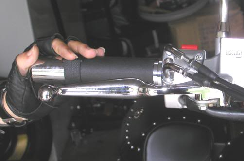 * Mistress K's adventure in modifying a Suzuki Intruder C50 / C800 * 126