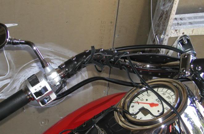 * Mistress K's adventure in modifying a Suzuki Intruder C50 / C800 * 138