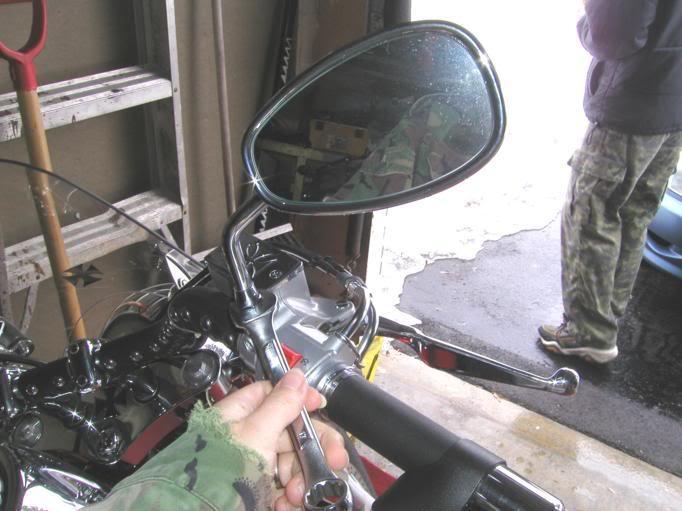 * Mistress K's adventure in modifying a Suzuki Intruder C50 / C800 * 166