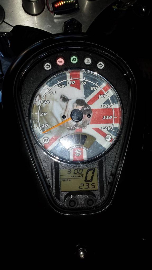 Custom Replacement Speedo Face Fitted ...... 2010 Suzuki C800 20131206_141720_zps1cd5d53d