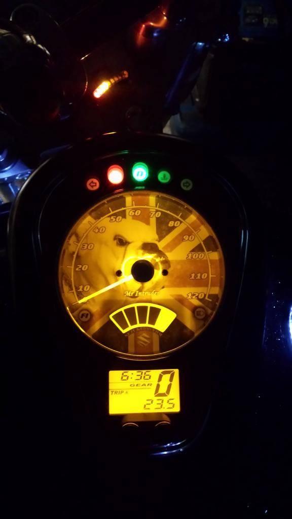 Custom Replacement Speedo Face Fitted ...... 2010 Suzuki C800 20131206_175404_zps47f5f243