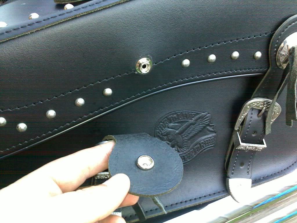 *Saddle Bags Strap Mod ............................ 2010 Suzuki C800 * 30102010001