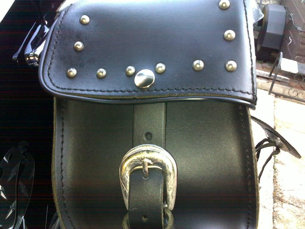 *Saddle Bags Strap Mod ............................ 2010 Suzuki C800 * 30102010003