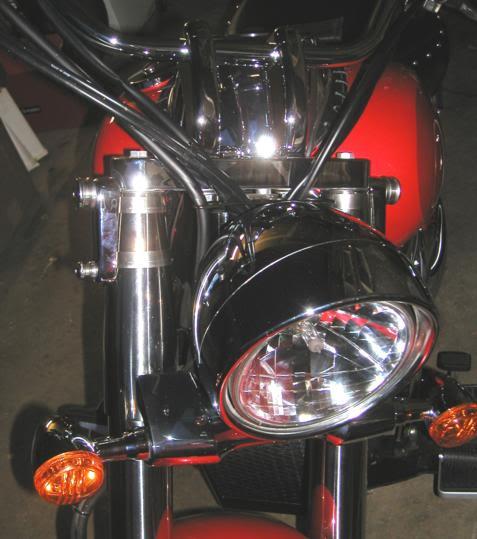 * Mistress K's adventure in modifying a Suzuki Intruder C50 / C800 * 64