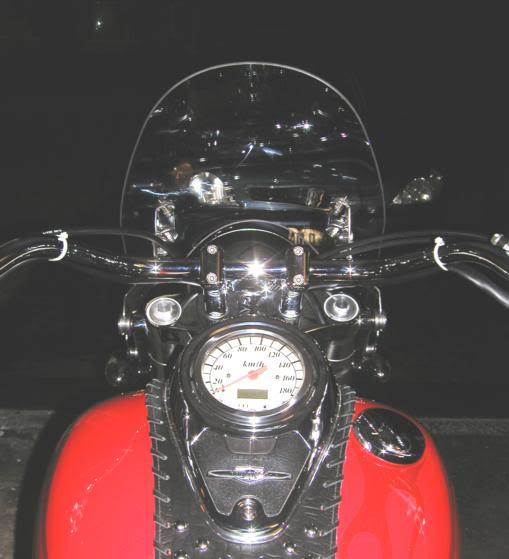 * Mistress K's adventure in modifying a Suzuki Intruder C50 / C800 * 66