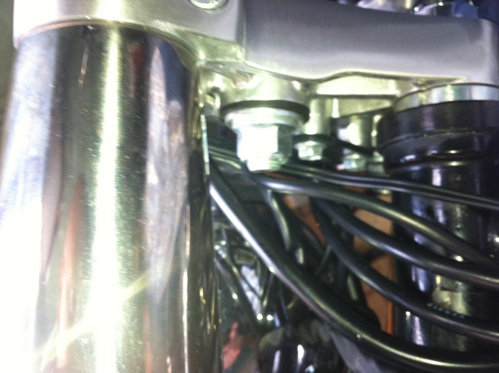 """* 2"""" Riser Install Suzuki C800 / C50 * IMG_0110"""