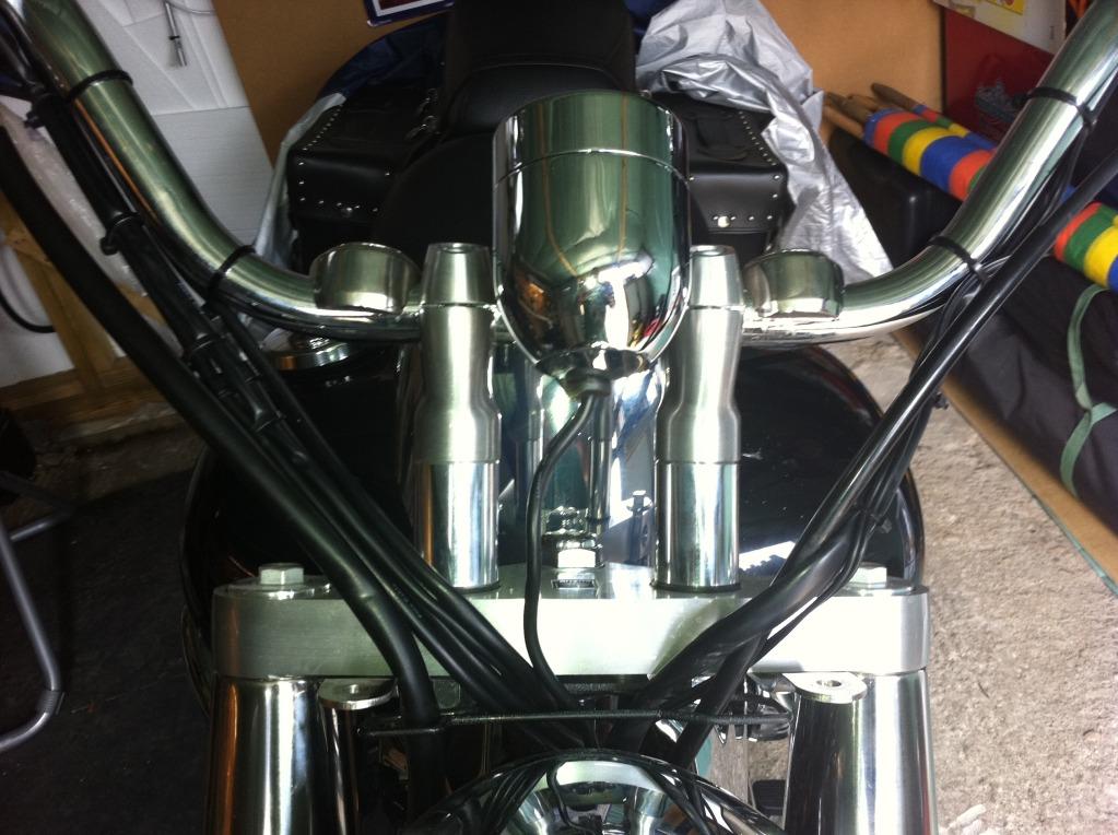 """* 2"""" Riser Install Suzuki C800 / C50 * IMG_0116"""