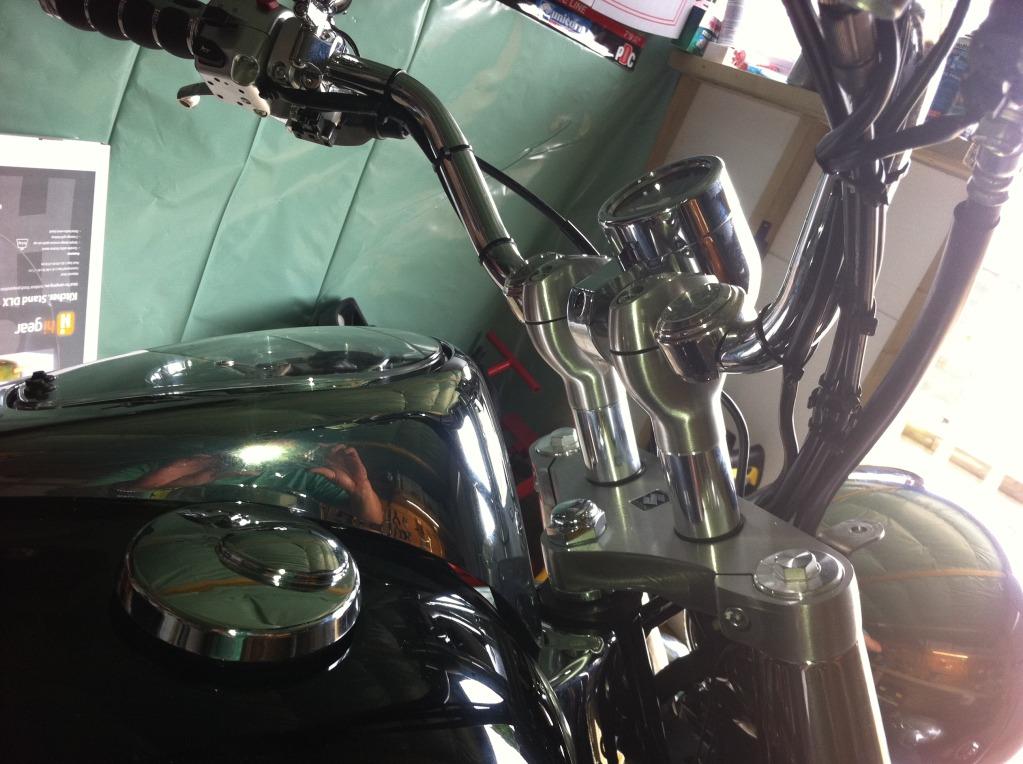 """* 2"""" Riser Install Suzuki C800 / C50 * IMG_0117"""