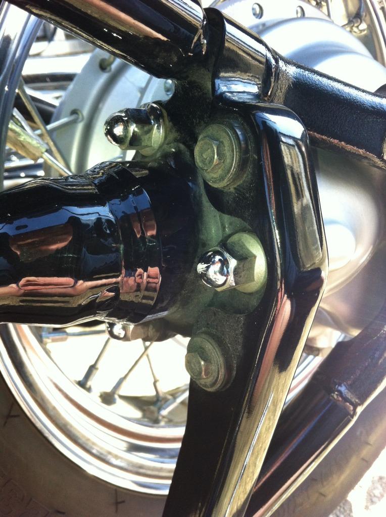 * False Swing Arm Removal Instruction - Suzuki C800 / C50 * IMG_0340