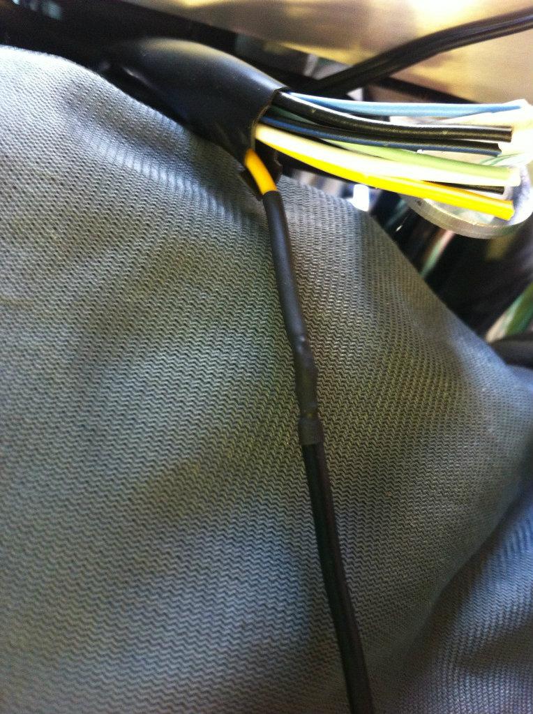 "* 14"" Ape Hanger bars Install, Suzuki C800 / VL800 * IMG_0770"