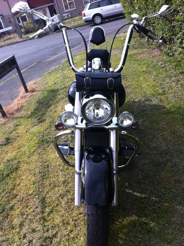 Couple of pics of my .......... 2010 Suzuki Intruder C800 Cruiser IMG_0807