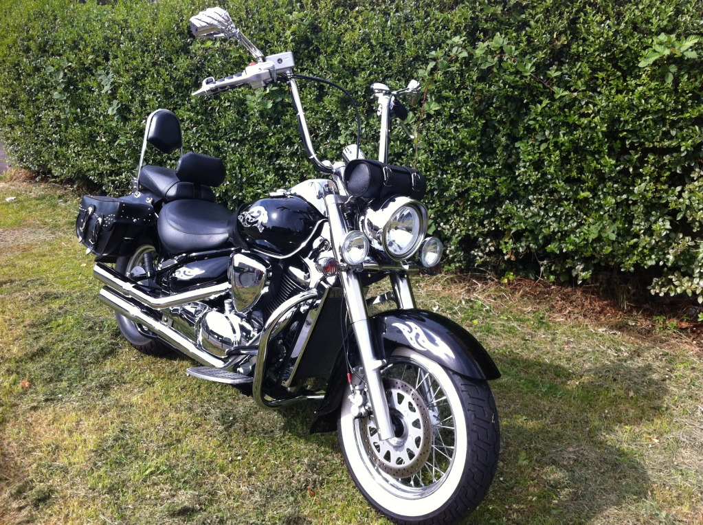 Couple of pics of my .......... 2010 Suzuki Intruder C800 Cruiser IMG_0812