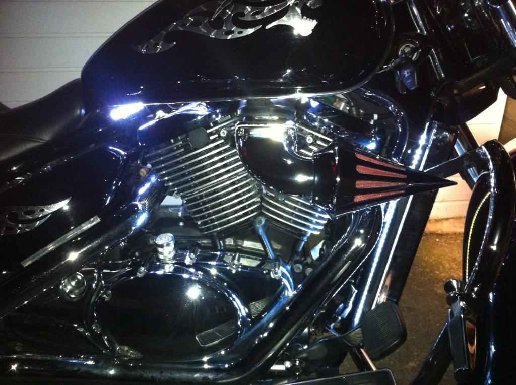 Chromed Spiked Cone Air Filter From Suzuki M109 - C800 Conversion IMG_1004_zps1c6ac04e