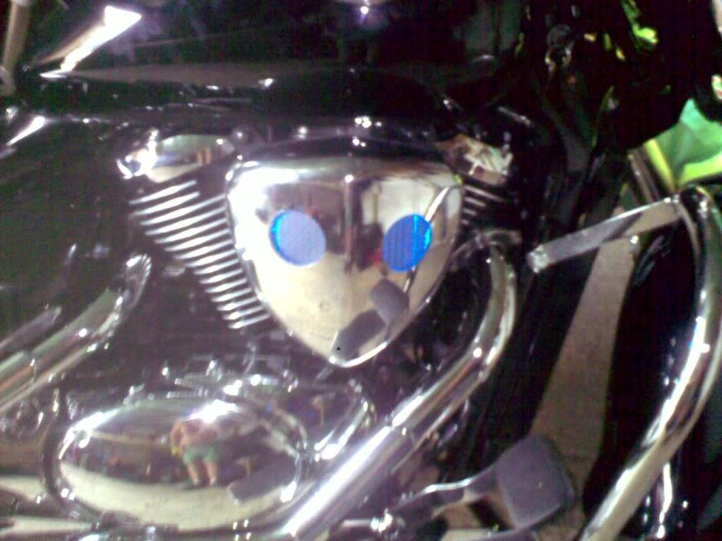 Suzuki C800,  Lighting Up The Air/Filter Box Lightonlight