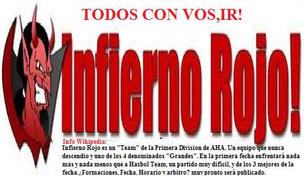 IR - Infierno Rojo INFOWIKIPEDIAIR