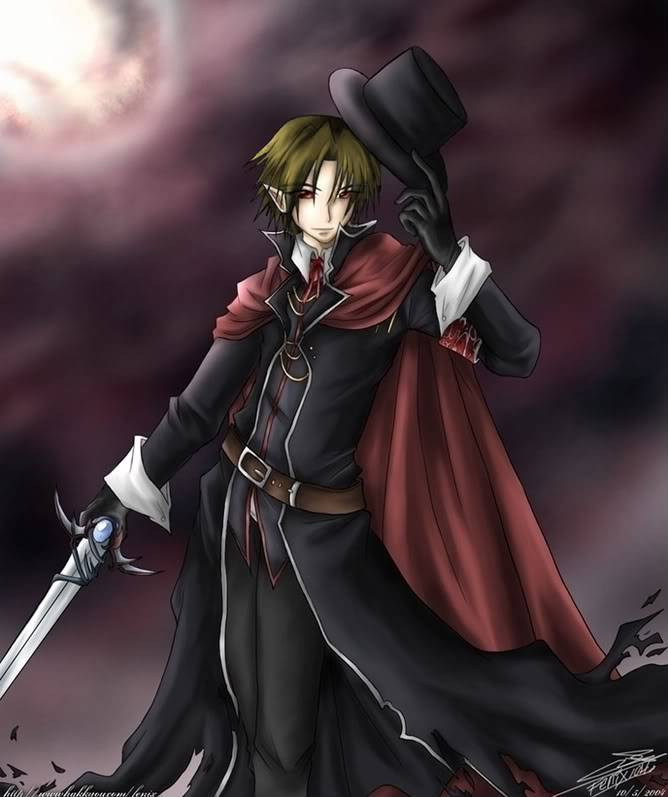 Lord of the Rings - The New Darkness Anime-Vampire