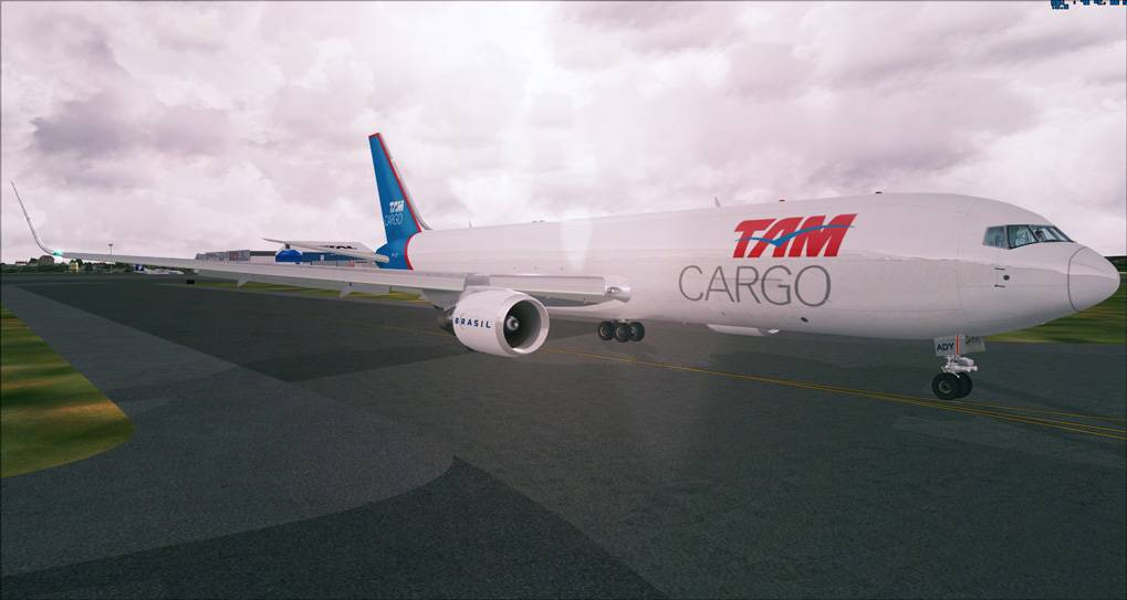 One day in Cargo Service - TAM Cargo B767 2014-1-8_14-37-54-275