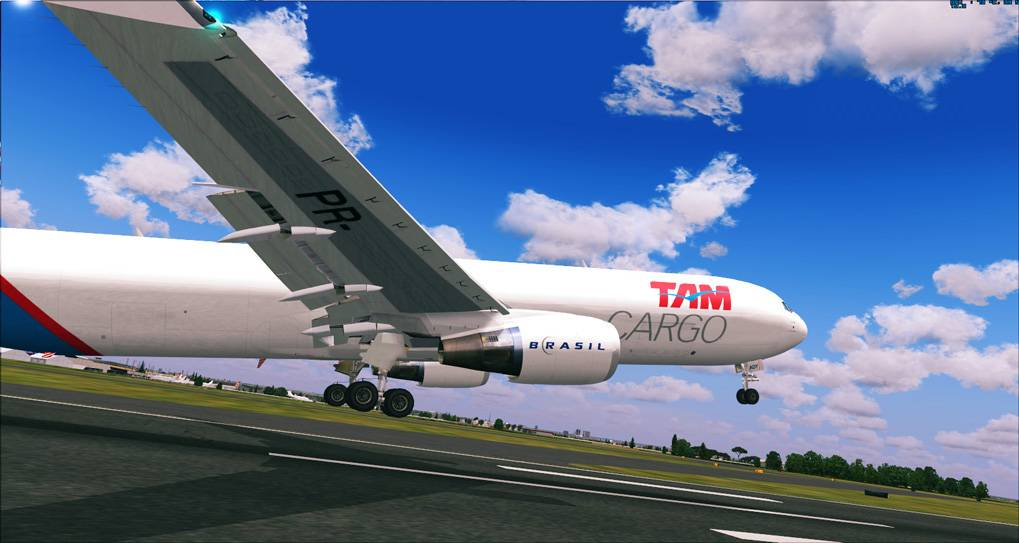 One day in Cargo Service - TAM Cargo B767 2014-1-8_18-43-27-773