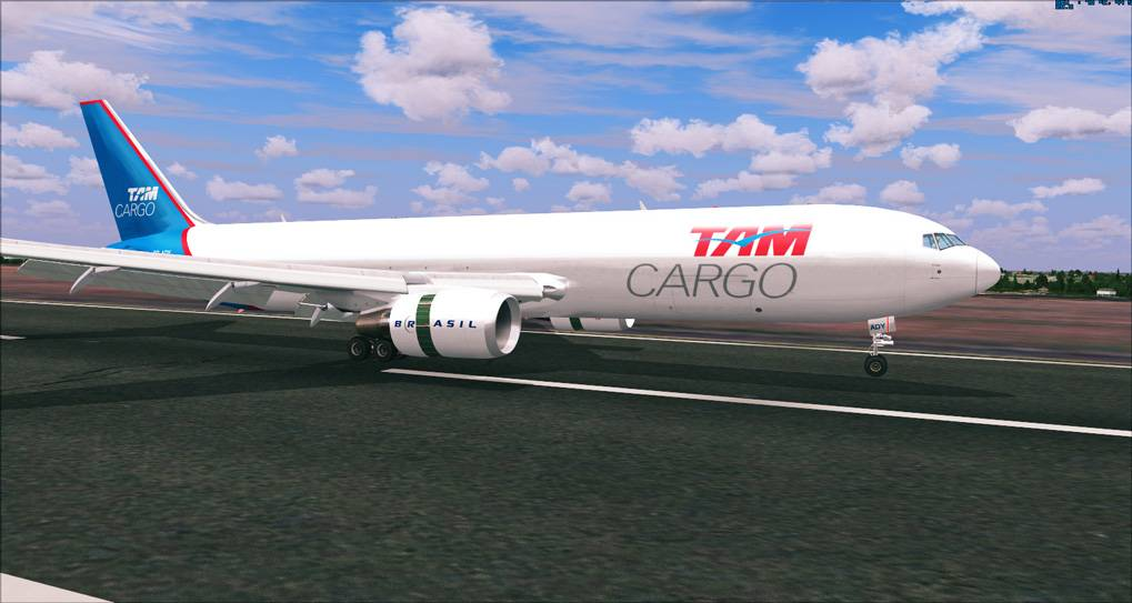 One day in Cargo Service - TAM Cargo B767 2014-1-8_20-15-40-581