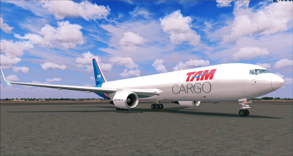 One day in Cargo Service - TAM Cargo B767 2014-1-8_20-20-5-935
