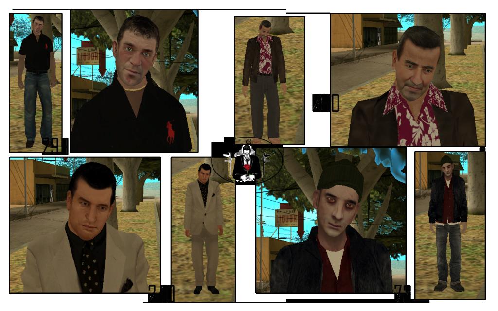 Skins / pack Skins : Mafia italo Américain. Skrini2