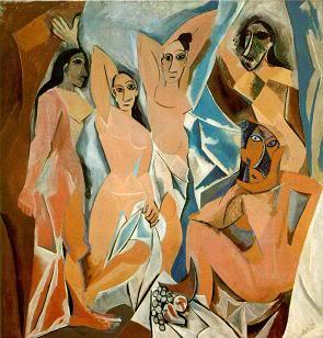 La culta imbecilidad Arte-moderno-pintura
