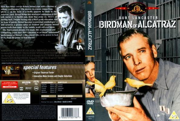 La celda olvidada (o El hombre pájaro de Alcatraz - Birdman of Alcatraz) Birdman-Of-Alcatraz-Front-Cover-11396